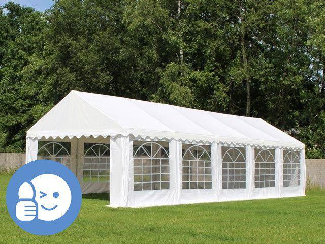 Tradgard 41529 Záhradný párty stan ECONOMY 4 x 10 m - biela
