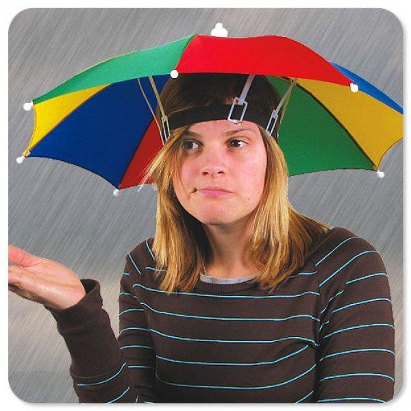 Dáždnik na hlavu