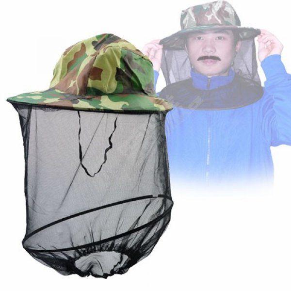 Klobouk s ochrannou sítí proti hmyzu