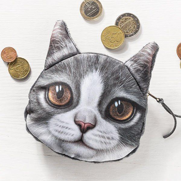 Kočičí peněženka na drobné