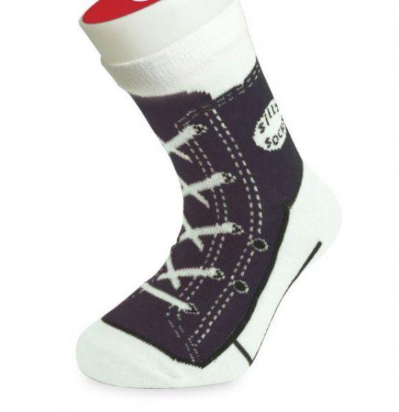 Detské bláznivé ponožky - basket-čierne