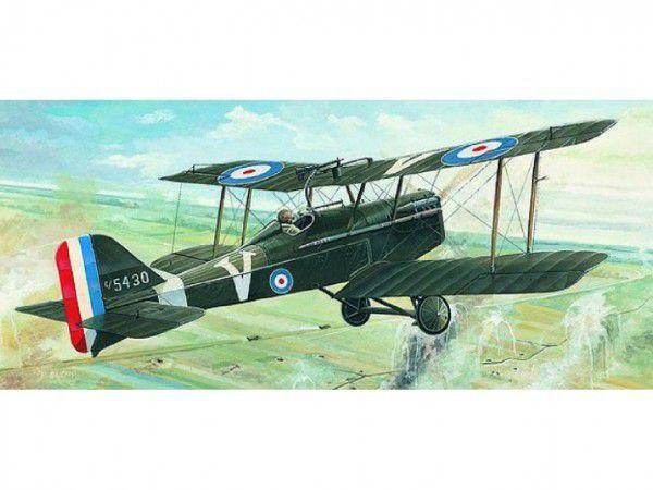 Model R.A.F. SE 5a 13,8x17,5cm v krabici 31x13,5x3,5cm