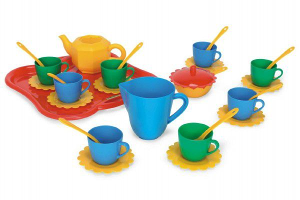 Party World - Tác s nádobím plast 28x10cm 30 ks Wader