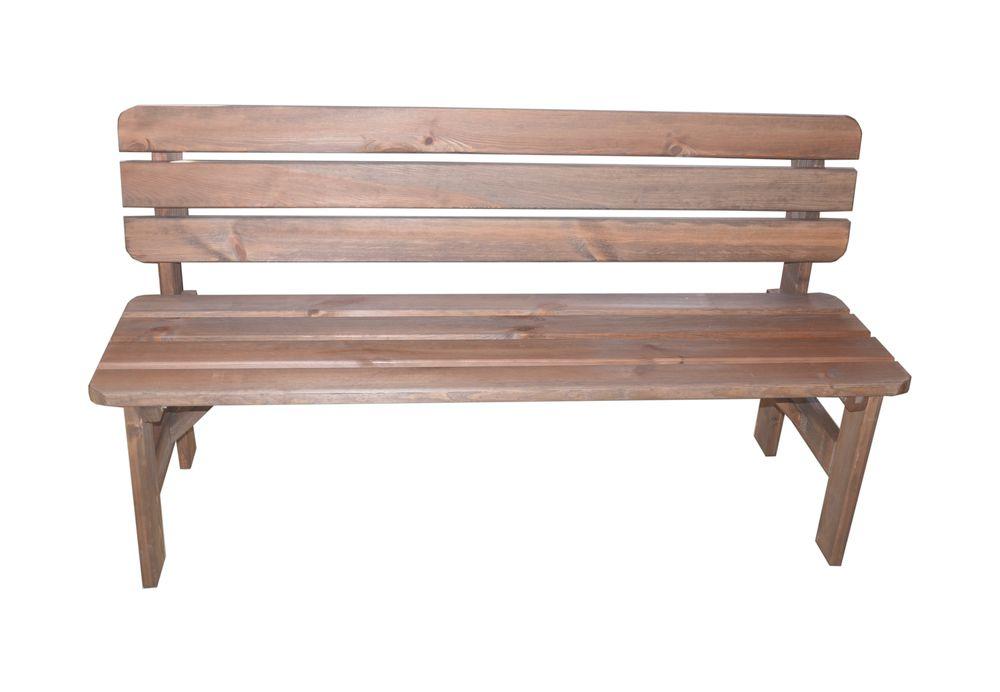 Zahradná drevená lavica MIRIAM