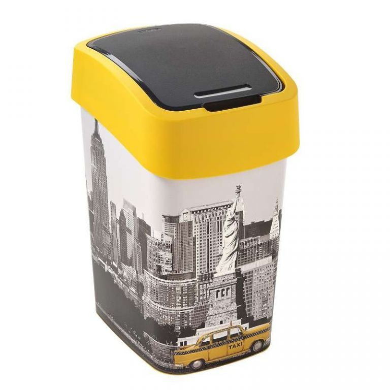 FLIPBIN odpadkový koš 25l - NEW YORK CURVER