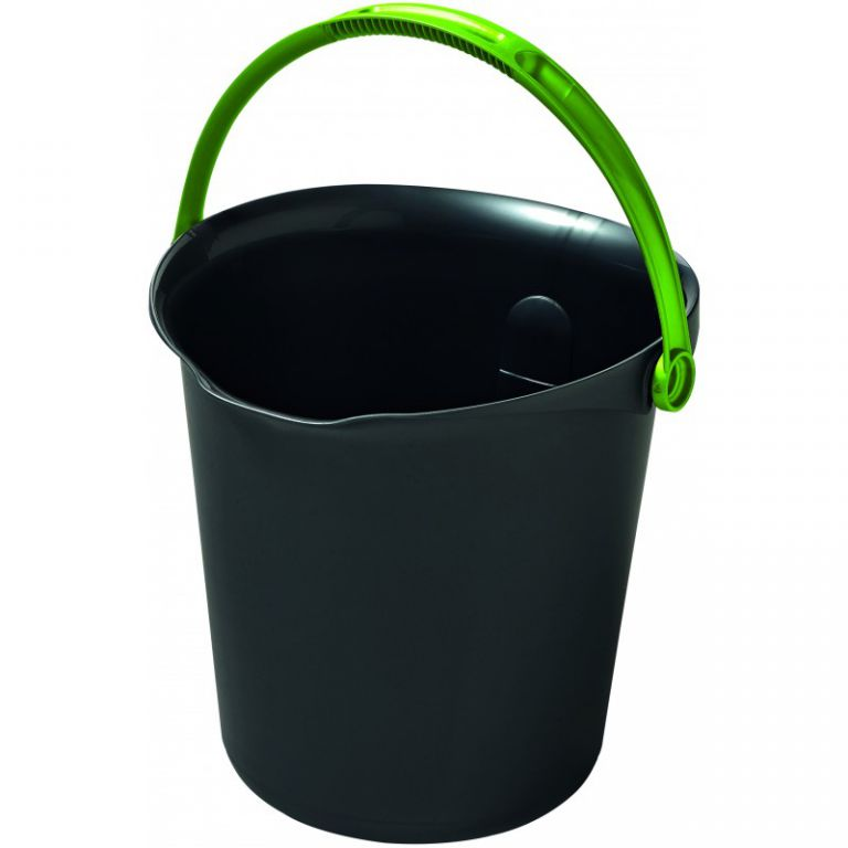 Úklidový kbelík 9l - tmavě šedá CURVER