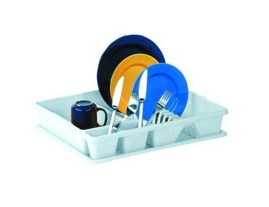 Odkapávač na nádobí s podnosem BIG - bílý  CURVER