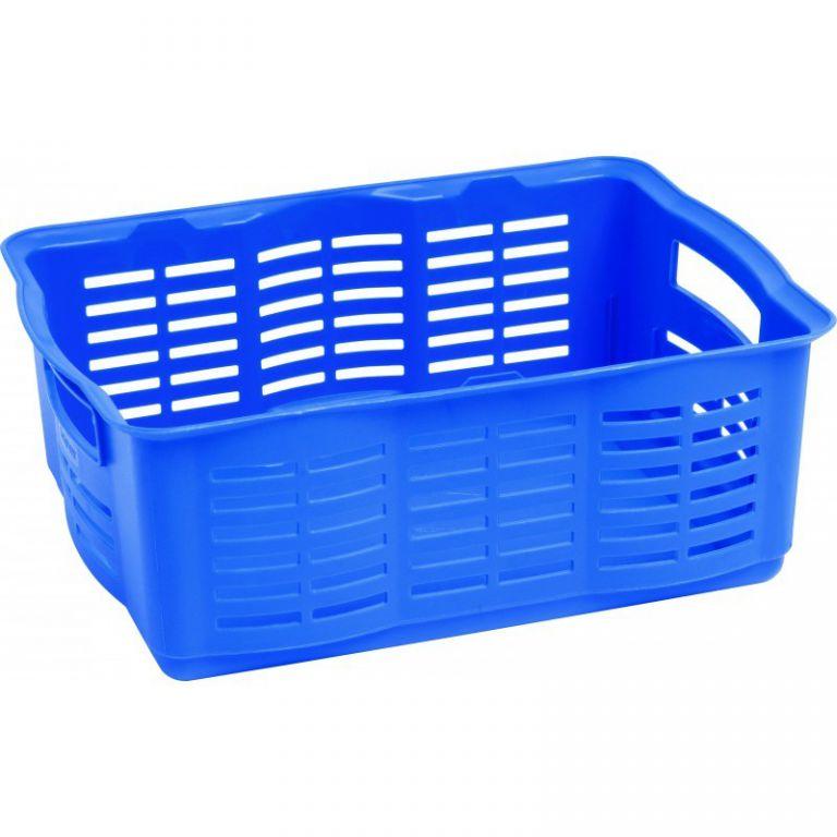 Košík na menší předměty - L - modrý CURVER
