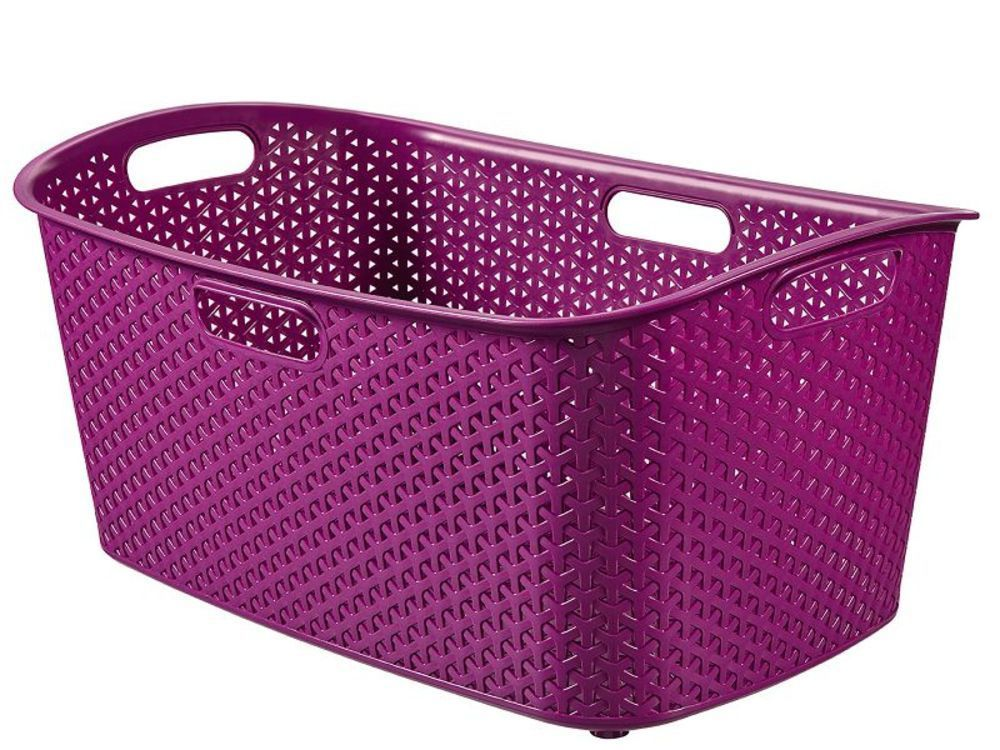 Koš na prádlo MY STYLE 47 l - fialový CURVER