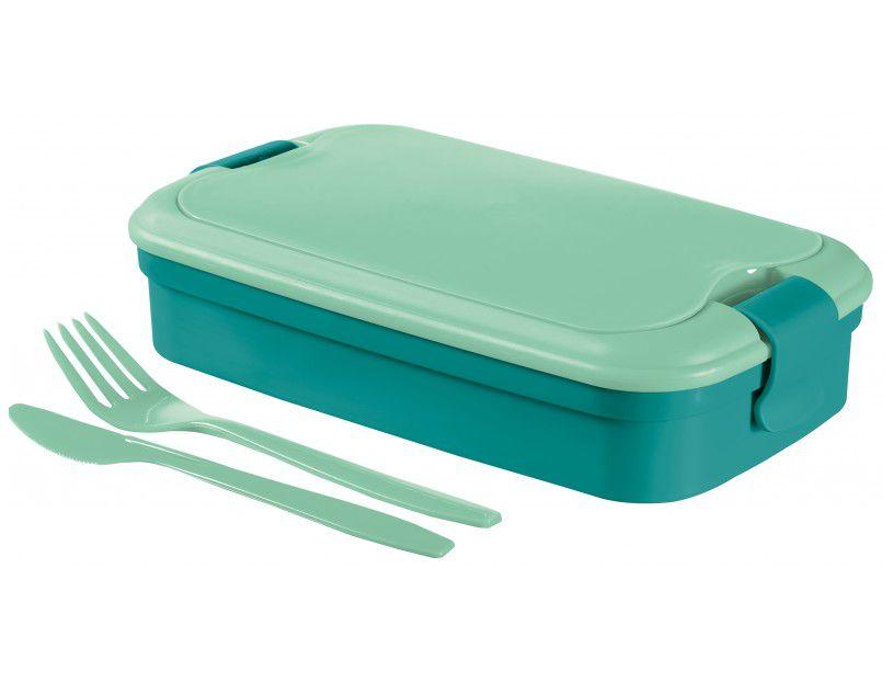 Desiatový box LUNCH & GO - modrý (00768-B36)