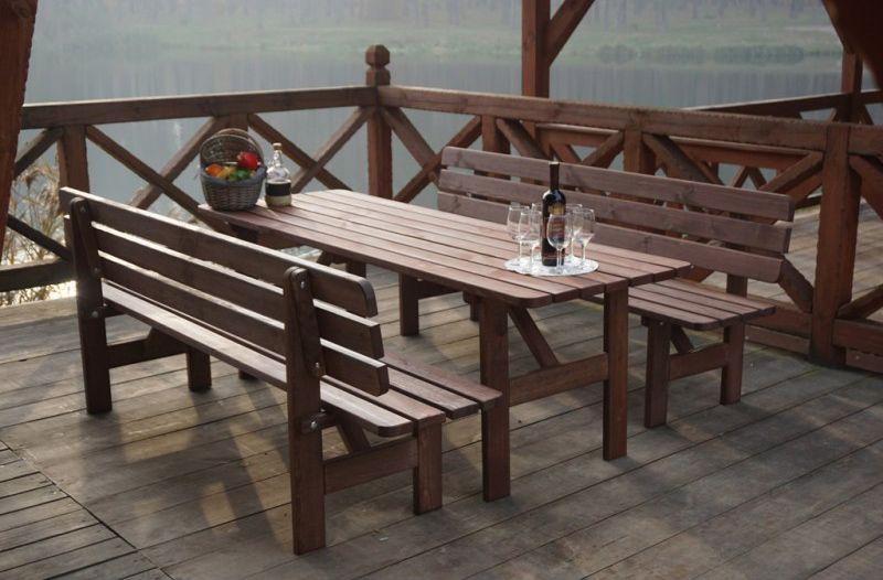 Drevený stôl MIRIAM - 180CM