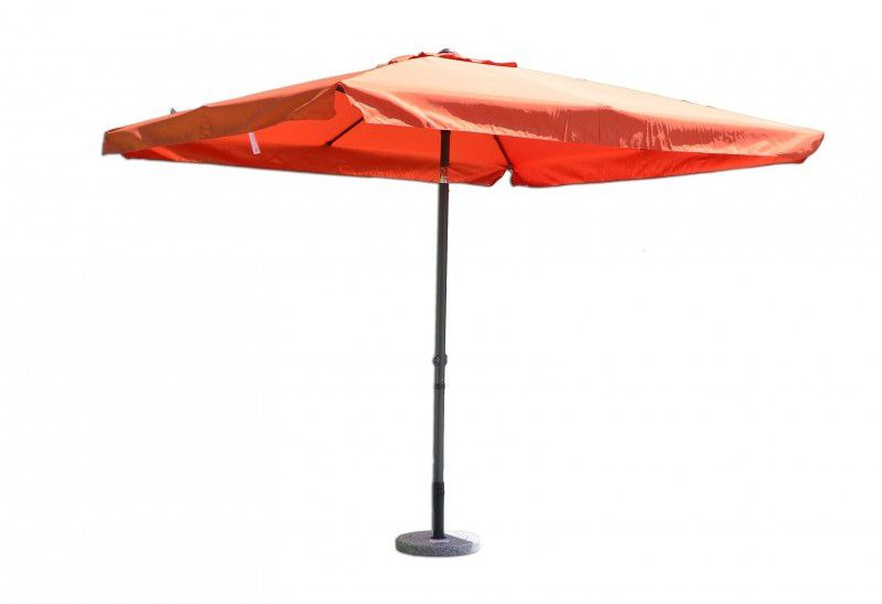 Tradgard 3875 Štvorcový slnečník terakota 270 x 270 cm