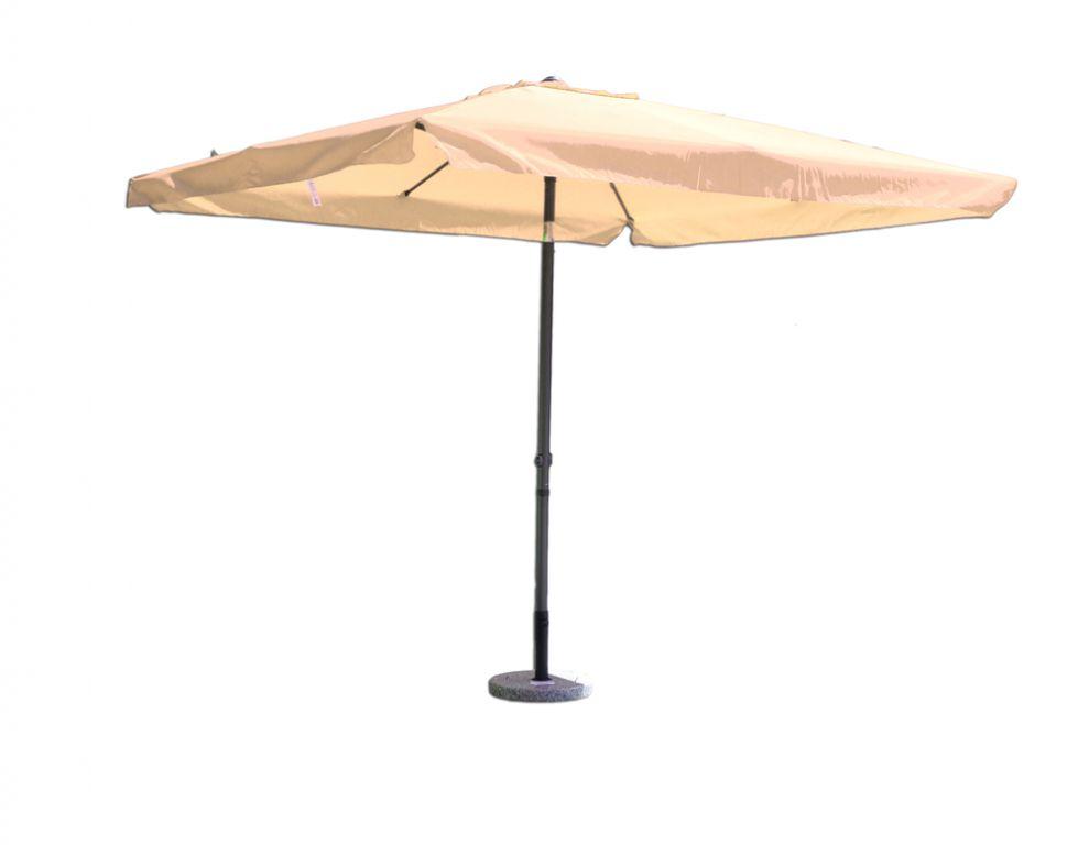 Štvorcový slnečník béžový 270 x 270 cm