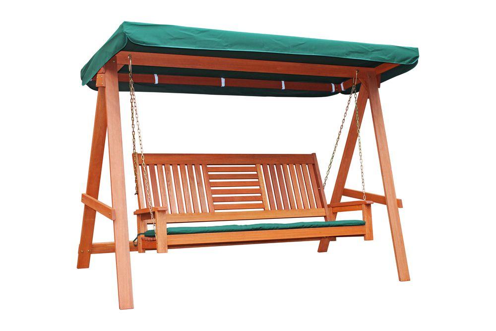 Tradgard 54632 Záhradná drevená hojdačka SEREMBAN